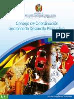 Consejo de Coordinación Sectorial de Desarrollo Productivo