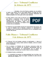 5. Fallos de La Jurisprudencia Administrativa Francesa