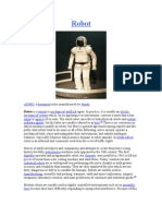 ASIMO, A Humanoid Robot Manufactured by Honda Robot is A