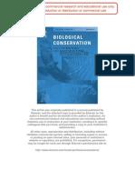 Gardner Et Al. (2007) Biol Cons
