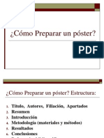 Como Preparar Un Poster