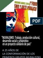 25 AÑOS DEL MURALISMO ARGENTINO EN DEMOCRACIA