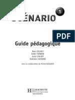 Scénario 1 -  Guide pédagogique