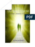 Death-Bed Visions - The Psychical Experiences of the Dying by Sir William Barrett
