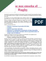 Rugby ...Una Forma de Ver y Sentir El Juego.