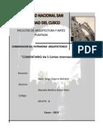 Conservacion - 2do Trabajo Cartas Internacionales