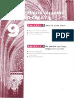 Cuaderno de ejercicios SUEÑA A1-A2 parte 9