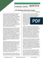 Report Card on HP's Mainframe Alternatives Program