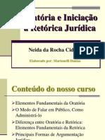 Oratoria e Iniciacao a Retorica Juridica.ppt