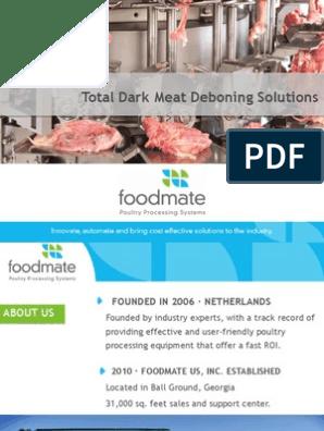 Total Dark Meat Deboning Solutions | Poultry | Meat