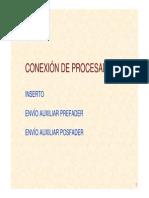 Conexion Procesadores Audio Patch Bay