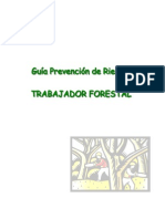 Guía de prevención RRLL Trabajador Forestal