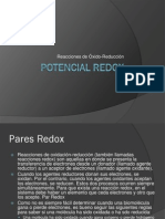 Potencial Redox