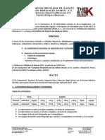 XLI Campeonato Nacional Mayor Jul2013 Convocatoria[SFC 3] FMK