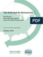 The Bold and Bureaucrat