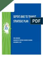 SEPTA Presentation at 2013 Bike Expo