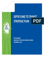 SEPTA Presentation at 2013 Bike Expo
