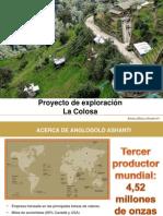 Proyecto La Colosa 2011Dic