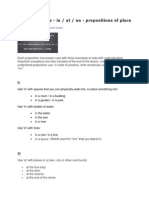 Preposition Use In At On referring to place Rules.docx