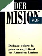 Debate Sobre La Guerra Espiritual en America Latina.136192740