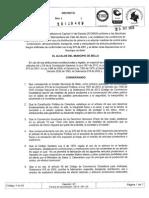 Decreto Reglamentación uso de pólvora en Bello