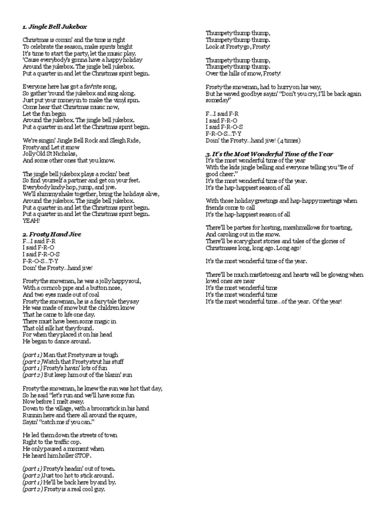 jingle bell jukebox lyrics | Santa Claus | Christmas Music