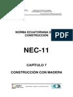 Nec2011 Cap.7 Construccion Con Madera 021412