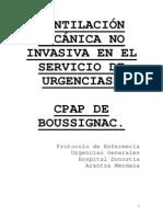 PROTOCOLO CPAP