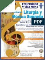 Seminario sobre Liturgia y Música Sacra - Hna Cecilia López