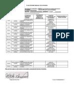 Plan de Informe Semanal de Actividades Del 25 Al 30 de Noviembre de 2013 - Formato 2013