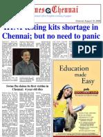 Times Chennai, E Paper 10 August 2009