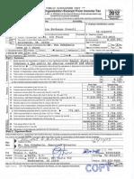 ALEC IRS Form 990 2012