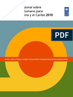 Informe Regional IDH ALCaribe 2010