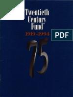 TCF's 75th Anniversary Publication