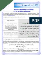 Ramadan Pratiques