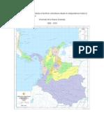 Mapas de Colombia desde la Independencia