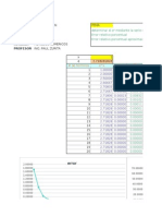 CALCULO de Series Maclaurin en Excel 2003