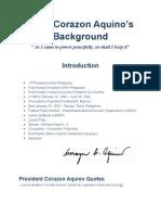 Corazon Aquino Bibliography