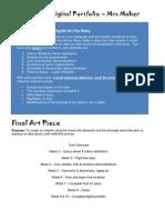 vis art task  criteria