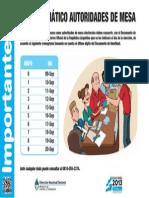 Autoridades Mesa Cronograma Pago