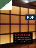 Livro - COLOR, Environment & Human Response - Frank H. Mahnke (baixa resolução)