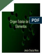 Origen de Los Elementos Diapositivas 3Mb 243
