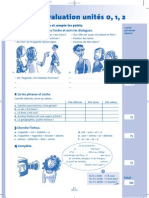 Auto-évaluation unités 0, 1 et 2   'MAG  1