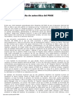 Navarro, V. La falta de autocrítica del PSOE, 12-11-13