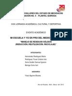 Ecologia de Mi Region Quiroga