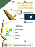 SIMULACIÓN DE GERENCIA DE OPERACIONES