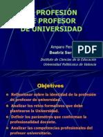 Profesión Profesor Univ.