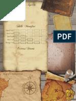 Fate Pirate Sheet