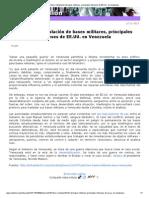 Petróleo e instalación bases militares, principales intereses EE.UU en Venezuela, 12-11-13