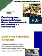 COMUNIDADES SALUDABLES COAHUAYANA